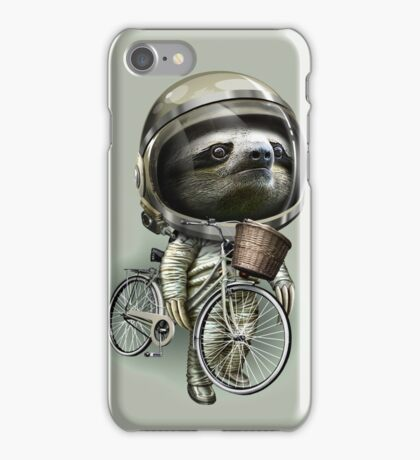 WITH MY BIKE ALONG iPhone Case/Skin