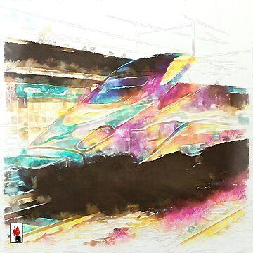 Fast Colored Train by colorARTillery