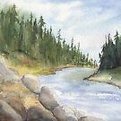 A River Runs Through.... by Diane Hall