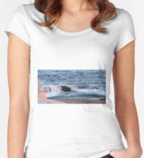 Nova Scotia Ocean Women's Fitted Scoop T-Shirt