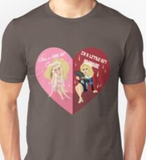 Unhhhh BFFs Slim Fit T-Shirt