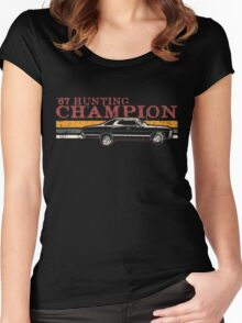 '67 Hunting Champ Women's Fitted Scoop T-Shirt