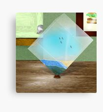 In the cube Canvas Print