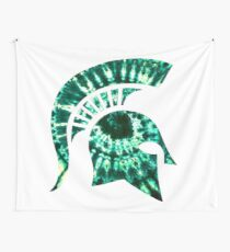 Michigan State Tie Dye Wall Tapestry