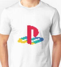 8-bit PS Logo Unisex T-Shirt