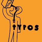 TYPOS Magazin Ausgabe 5 Cover von dillonchr