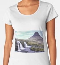 Kirkjufell, Iceland Women's Premium T-Shirt