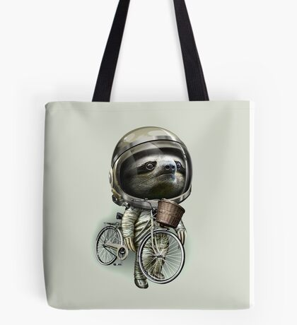 WITH MY BIKE ALONG Tote Bag
