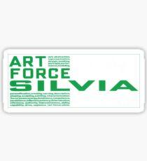 Art Force Silvia Vintage Japan Decal Slap Sticker