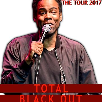 CHRIS ROCK - TOTAL BLACK OUT THE TOUR 2017 by stepclark