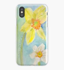 Daffodils relaxing iPhone Case
