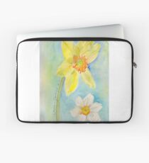 Daffodils relaxing Laptop Sleeve