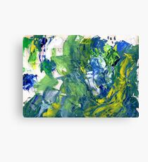 Commotion  Canvas Print