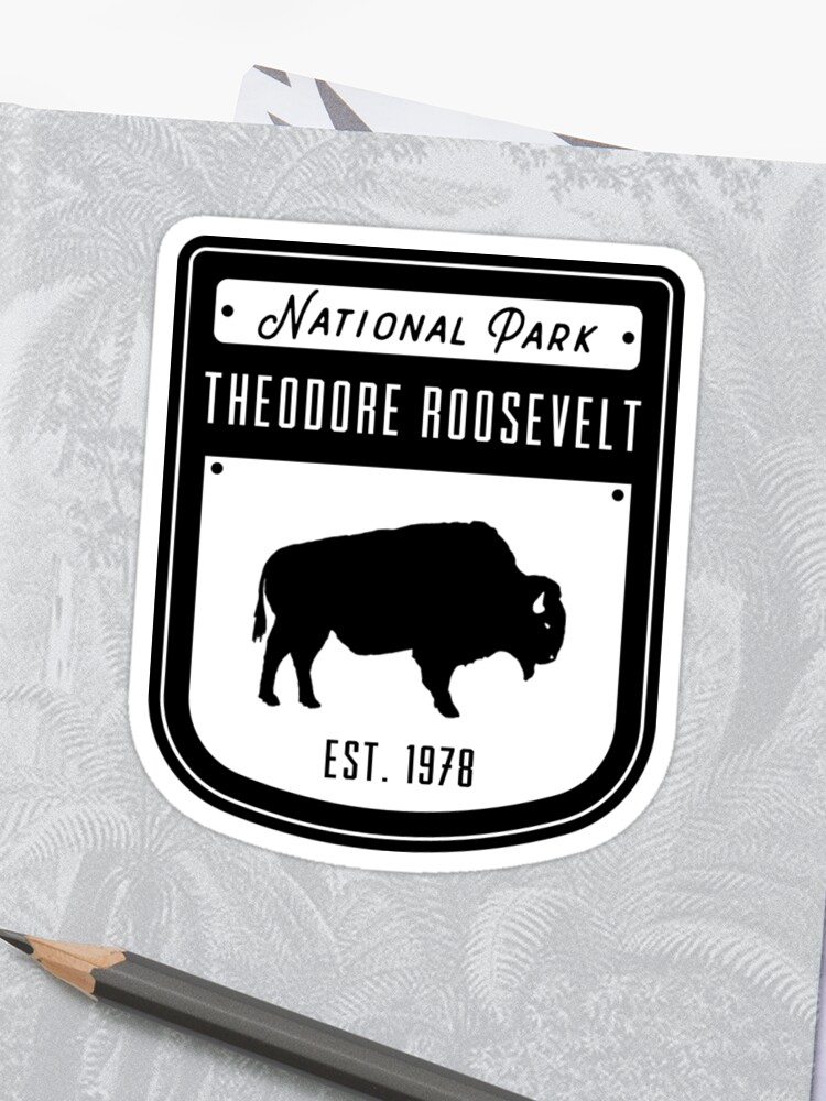 ede136f9f04e Theodore Roosevelt National Park North Dakota Badge Design