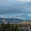 San Gabriel Mountains by Mike Herdering