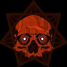 Sinister Skulls: Heptagram Circuit by Chad Savage