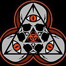 Sinister Skulls: Biohazard by Chad Savage