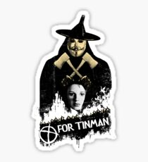 T For Tinman Sticker