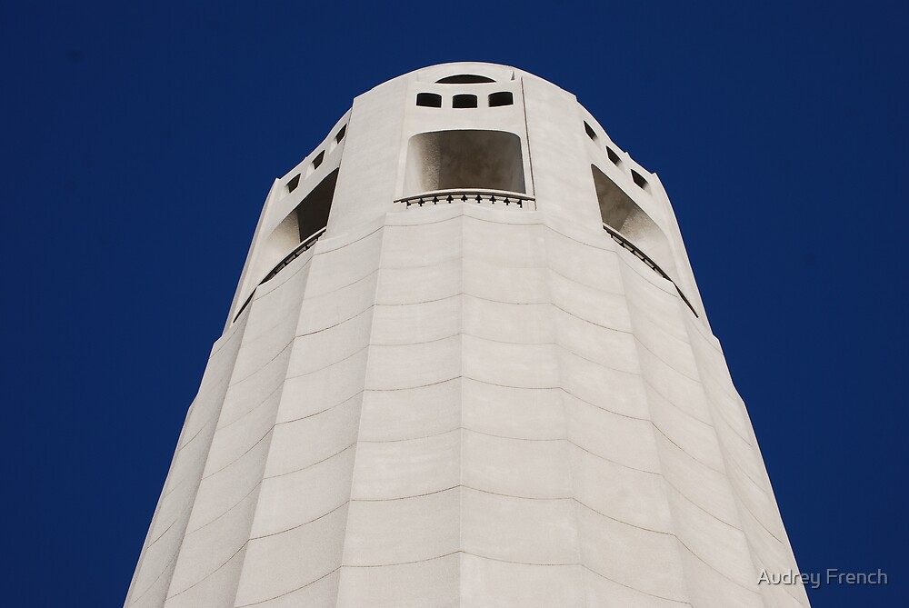 Coit Tower by Audrey French