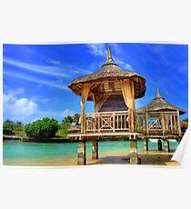 Mauritius Bungalos Poster