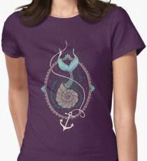 Mermaid Shell Women's Fitted T-Shirt