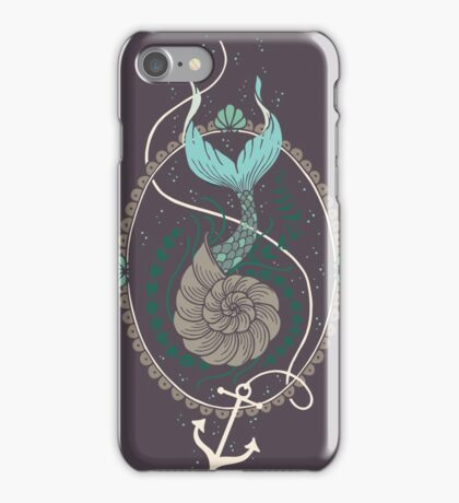 Mermaid Shell iPhone Case/Skin