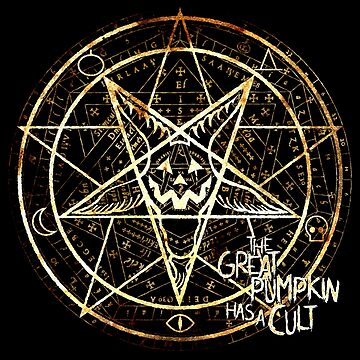 Cult of the Great Pumpkin: Pentagram by ChadSavage