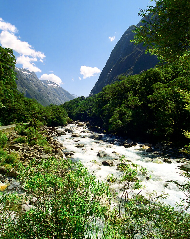 fiordland national park  by kevin smith  skystudiohawaii