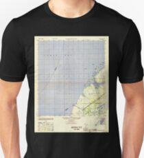 USGS TOPO Map Florida FL Cockroach Bay 345568 1947 25000 Unisex T-Shirt