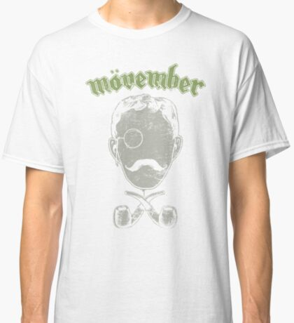 Mövember Head Classic T-Shirt