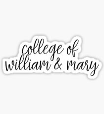 College of William & Mary Sticker
