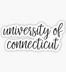 University of Connecticut Sticker