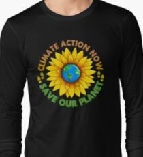 People's Climate Change March on Washington Justice 2017 Long Sleeve T-Shirt