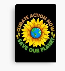 People's Climate Change March on Washington Justice 2017 Canvas Print