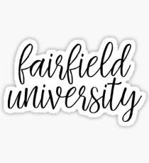 Fairfield University Sticker
