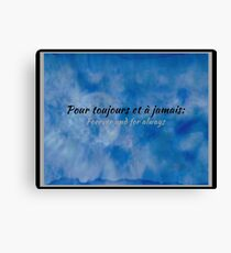 Forever & Always 52117 Canvas Print
