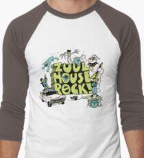 Zuul House Rock Men's Baseball ¾ T-Shirt