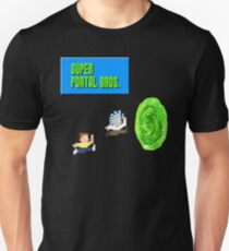 Rick And Morty Super Mario Style Unisex T-Shirt