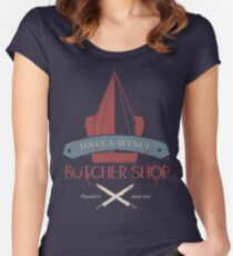 The Silent Butcher Women's Fitted Scoop T-Shirt