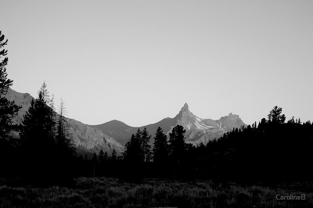 Pilot Peak at dawn by CarolineB