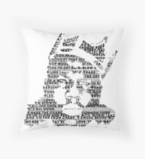 Biggie It Was All A Dream (White) Throw Pillow