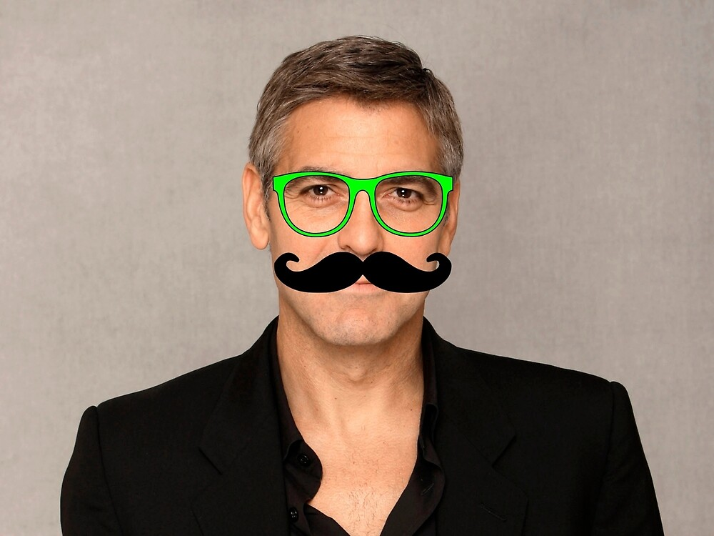 George Clooney Hipster by Lingua94