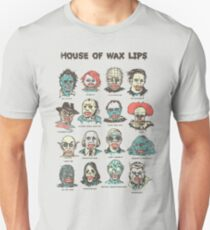 House Of Wax Lips Unisex T-Shirt