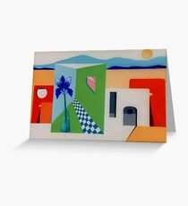 SANTA FE ADOBE - COLOR VERSION Greeting Card