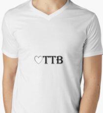 Heart OTTB Men's V-Neck T-Shirt