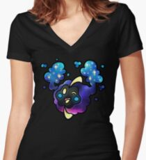 Cosmog Women's Fitted V-Neck T-Shirt