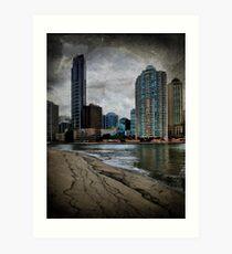 Brisbane CBD Art Print