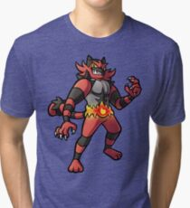 Incineroar Tri-blend T-Shirt