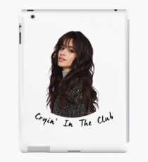 Camila Cabello - Cryin In The Club iPad Case/Skin