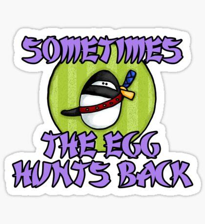 Ninja Egg Sticker
